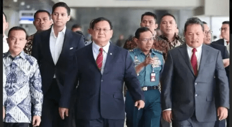 وزير الدفاع الإندونيسي برابوو يزور الولايات المتحدة لمدة خمسة أيام