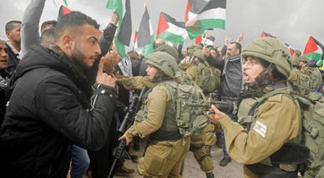 إصابة عشرات الفلسطينيين في مواجهات مع الجيش الإسرائيلي