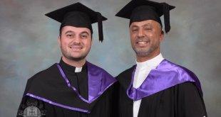 حصول كاهنين من ابرشية استراليا على ثاني شهادة الماجستير لهما، في الدراسات اللاهوتية