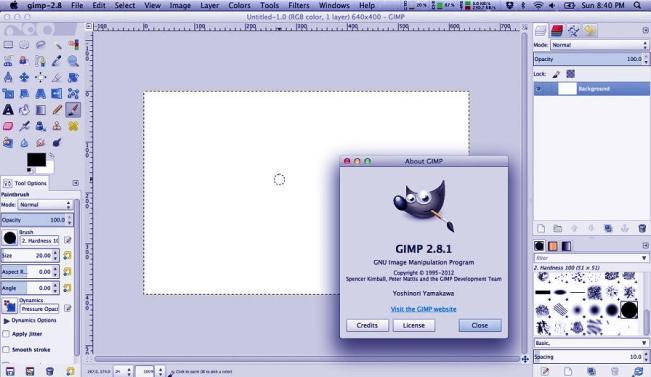 تحميل برنامج Gimp جيمب