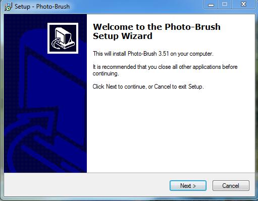 تحميل برنامج الكتابة على الصور photo bruch
