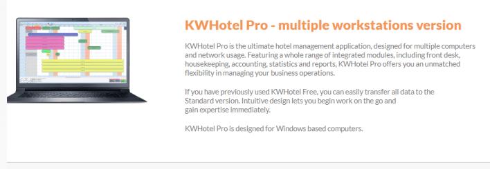 تحميل برنامج ادارة الفنادق KWHOTEL