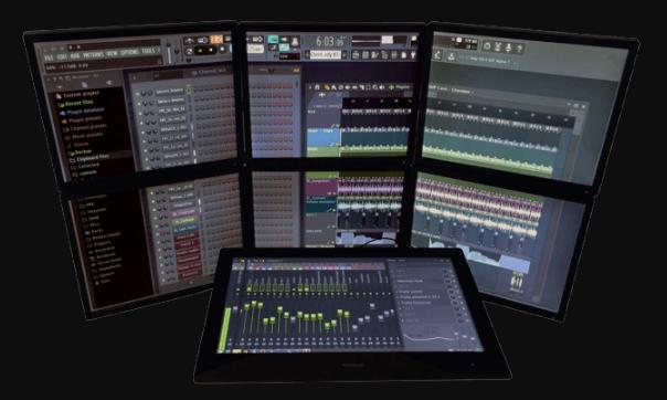 برنامج FL Studio لتعديل الصوت