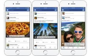 تطبيق فيسبوك على آي أو أس