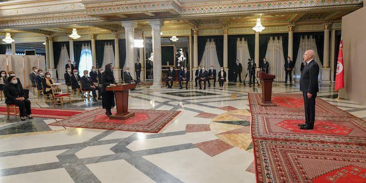 رئيس الجمهوريّة يشرف على موكب اداء اليمين