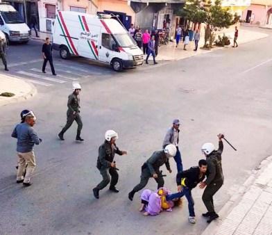 قمع للمتظاهرين في الصحراء الغربية المطالبين بالانفصال عن المغرب - حقوق الانسان