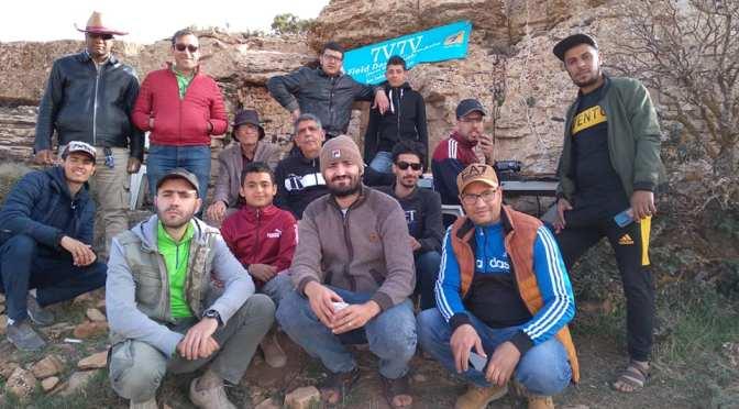 Field Day montagne de Messad (Bou Sâada)