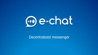 مشروع echat