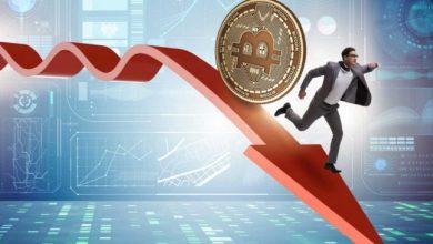 هبوط سوق العملات الرقمية