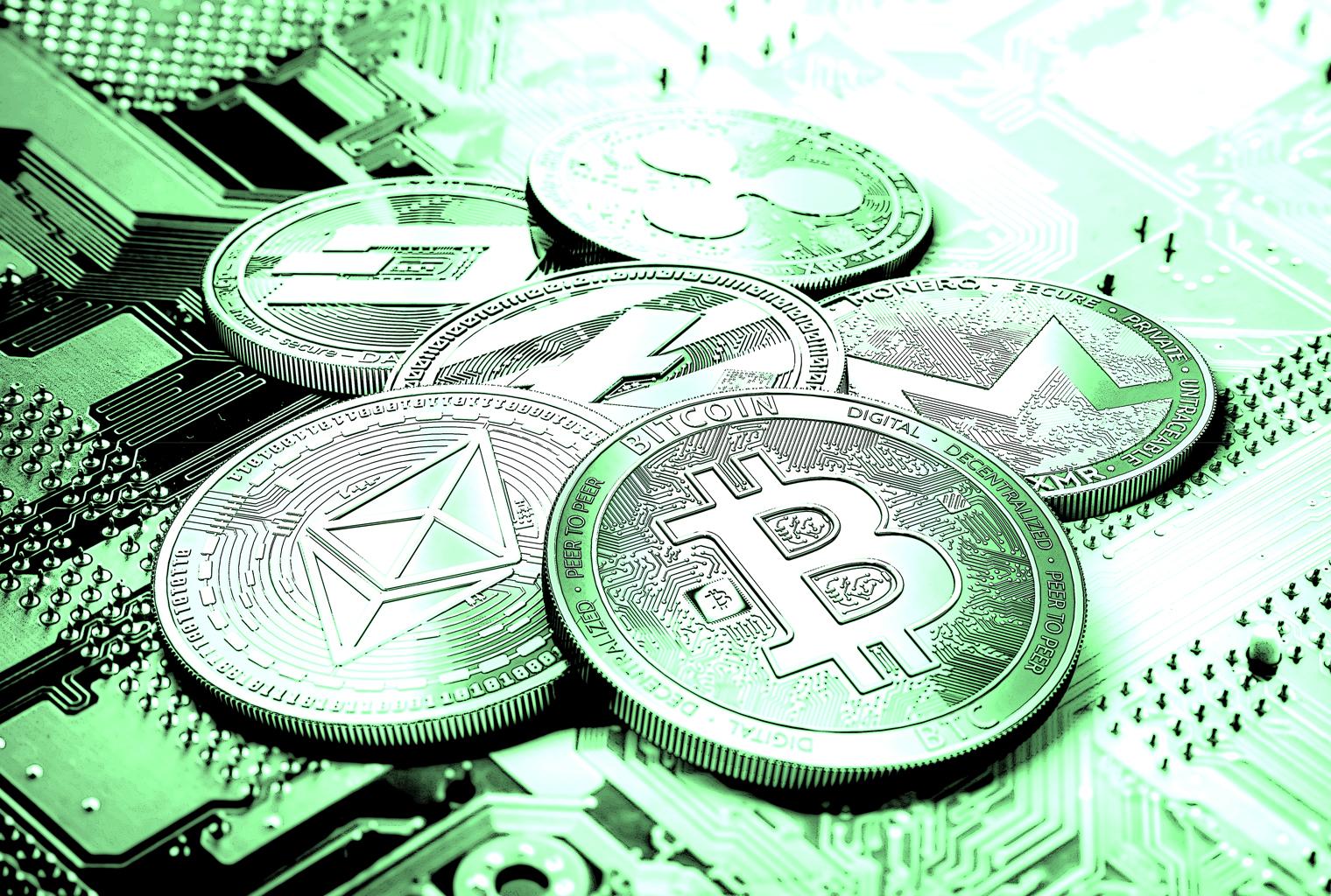 قائمة بأكبر العملات الرقمية المشفرة فوزا وخسارة في سنة 2019