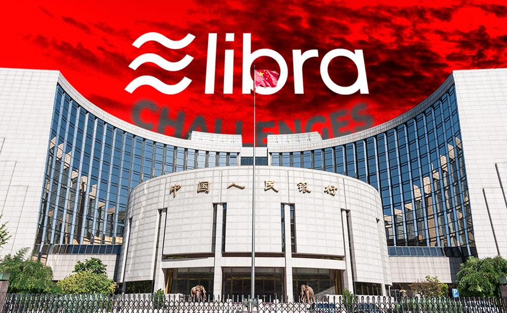 عملة ليبرا تتدفع الحكومة الصينية إلى تسريع تطويرها لعملتها الخاصة