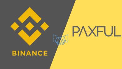 تعرف على تفاصيل شراكة منصة Binance و منصة Paxful لبيع و شراء البيتكوين