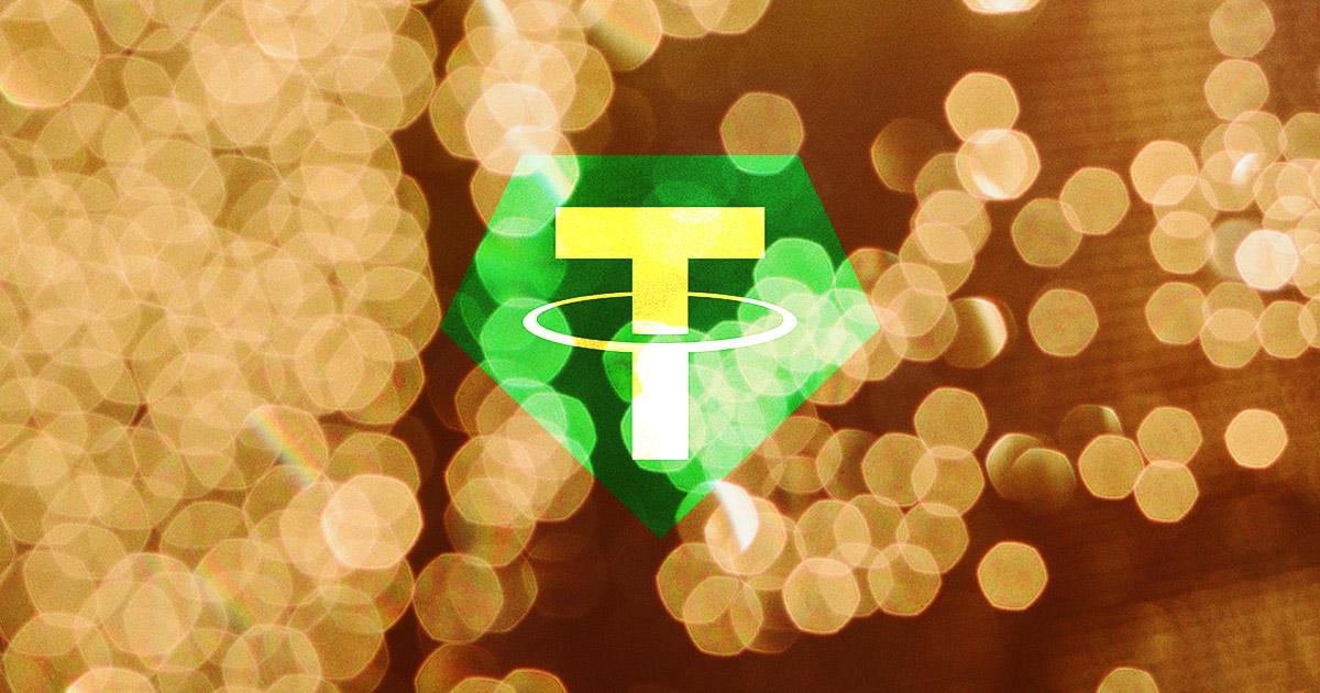 شركة التيثر تطلق عملة رقمية مستقرة مدعومة بالذهب!