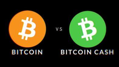 ماهو الفرق بين البيتكوين BTC والبيتكوين كاش BCH؟