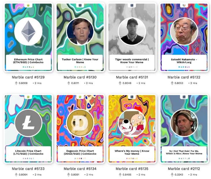 جنون الكريبتو متواصل: بطاقات نادرة على الايثيريوم تمثل شخصيات الكريبتو تُباع بأسعار ملفتة للنظر