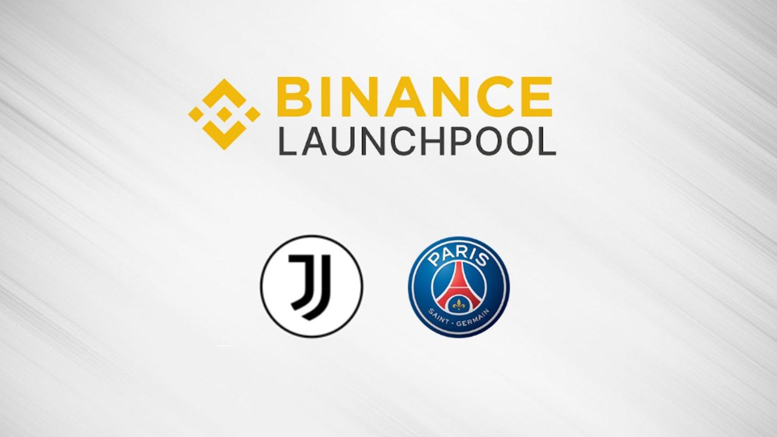 """عملة """"يوفنتوس"""" و """"باريس سان جيرمان"""" تدرج في منصة بينانس للتحصيص """"Launchpool"""""""