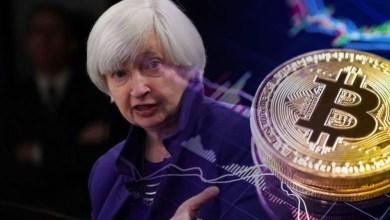 وزيرة الخزانة الأمريكية: البيتكوين يستهلك الكهرباء ويُستغل في مدفوعات غير مشروعة