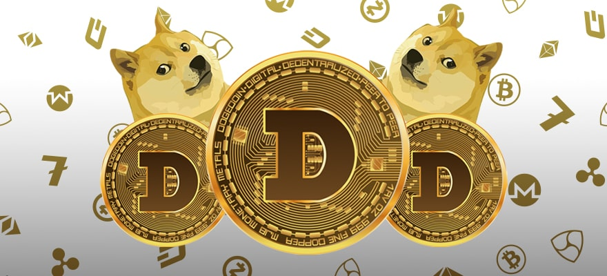 """العملة الرقمية """"Dogecoin"""" تحقق مستوى قياسي جديد وتتقدم في ترتيب أكبر العملات المشفرة"""
