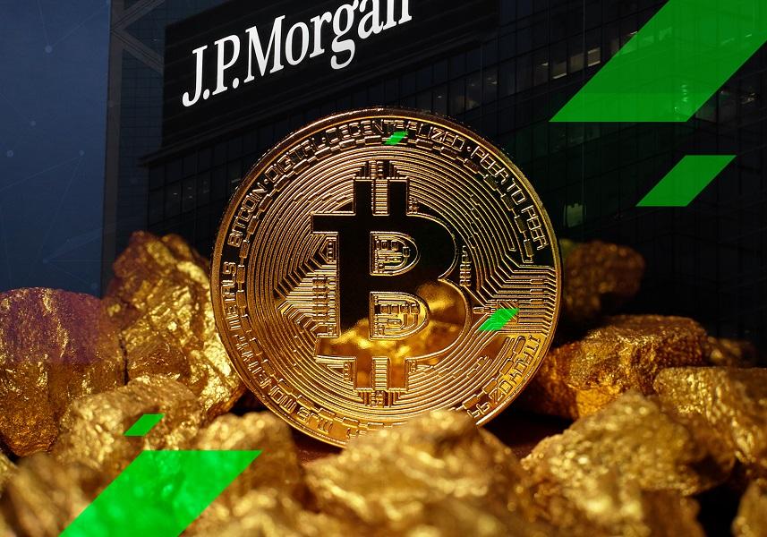 """تسريبات تكشف موعد سماح بنك """"جي بي مورغان"""" لمستخدميه بالاستثمار في صندوق البيتكوين"""