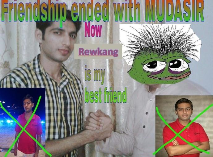 """صورة meme على شكل NFT بعنوان """"انتهت الصداقة"""" تباع بـ 20 ايثيريوم (أكثر من 50 ألف دولار)"""