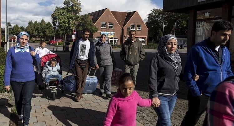 اللاجئون السوريون في المانيا