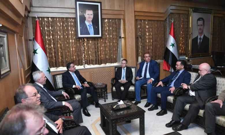 زيارة اعضاء من المانيا لسوريا