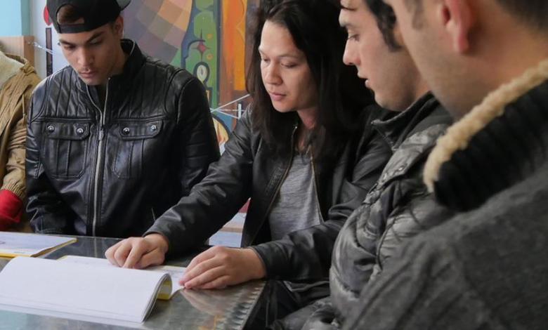 ورش عمل للاجئين