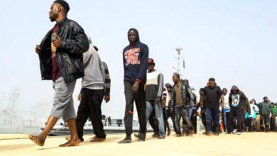 ترحيل لاجئين أفارقة