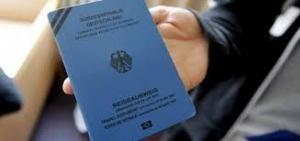 جواز سفر اللاجئين في المانيا