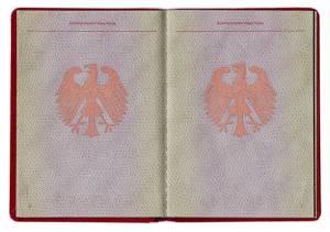 جواز سفر ألماني