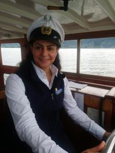 لاجئة سورية اول قبطان