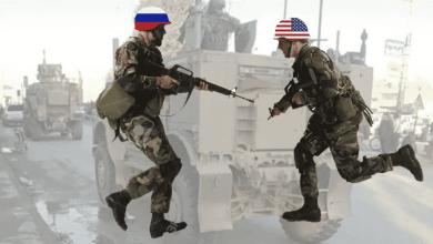 Photo of سوريا : اشتباك بالأيدي بين جنود أمريكيين و روس في بلدة تل تمر السورية