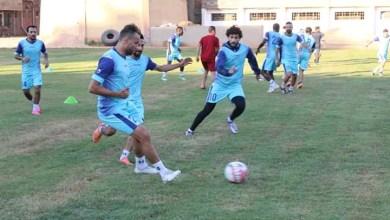 صورة الفريق الأول لكرة القدم بنادي المنيا يواصل تدريباته بقوة استعدادا لاستكمال الدوري