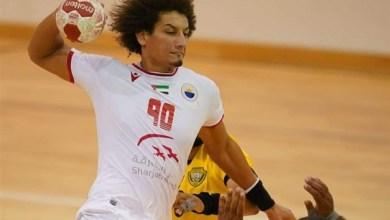 صورة الفخراني وعلي زين يقودان الشارقة للتتويج بالدوري الإماراتي لكرة اليد