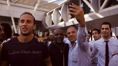 صورة بالصور..موسيماني يصل القاهرة تمهيدا لتدريب الأهلي