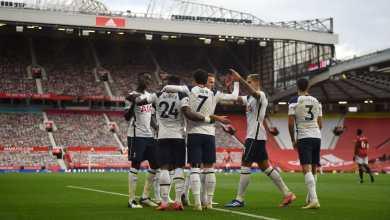 صورة من أول دقيقة إثارة كروية كبيرة خمس أهداف وبطاقة حمراء وأهداف ضائعة بالجملة مانشستر يونايتد وتوتنهام
