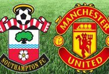 صورة مباراة مانشستر يونايتد وساوثهمتون تشكيل الفريقين