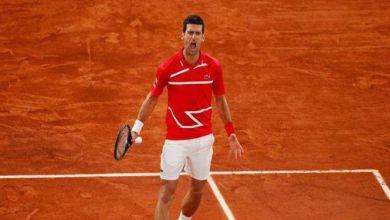 صورة ديوكوفيتش يتصدر التصنيف العالمي للاعبي التنس