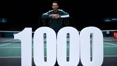 صورة نادال يحقق الفوز رقم 1000 في مسيرته بالتنس