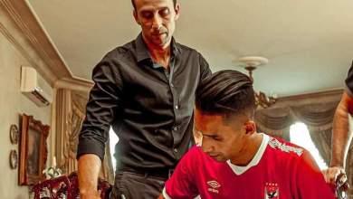 """صورة حصريا ..ل """" عرب سبورت """" الأهلي يقدم رسميا لاعبه بدر بانون الذي ارتبط معه بعقد يمتد لأربع مواسم"""