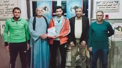 صورة بعد عودة من الكويت حمو الشندويلي يتعاقد مع المراغة