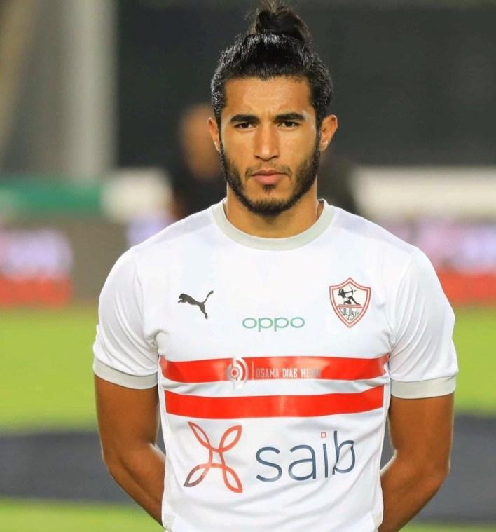محمد حسن لاعب الزمالك