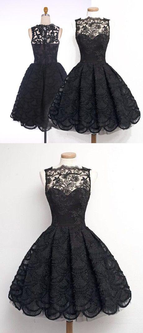 فستان سوارية اسود دانتيل