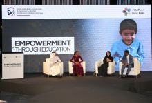 """Photo of Speakers share inspirational stories on the transformative power of education during Dubai Cares' """"Empowerment through Education"""" event"""