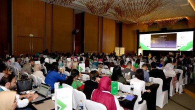 Photo of Doctors' Speech at the Second Annual Middle East Fertility Conference at the Sofitel Downtown Dubai
