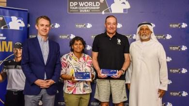 "Photo of ""الكرة الأسعد حظاً"" تفتتح فعاليات ""جولف موانئ دبي العالمية"