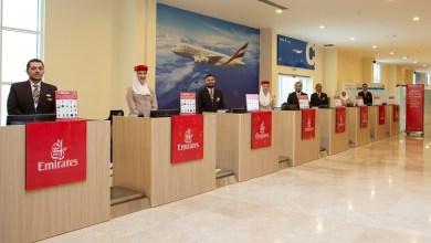 Photo of طيران الإمارات تفتتح أول محطة لإنهاء إجراءات سفر ركاب الرحلات البحرية
