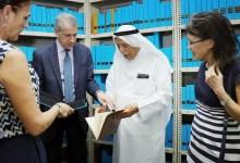 Photo of القنصل الأمريكي بدبي يزور مركز جمعة الماجد