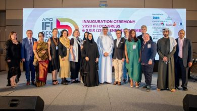 Photo of برعاية الشيخة لطيفة بنت محمد بن راشد آل مكتوم ورئيس هيئة دبي للثقافة والفنون تم اطلاق المؤتمر الدولي للمصممين العالميين