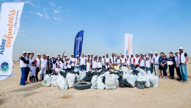 Photo of Aster Volunteers and Emirates NBD take to Al Qudra Desert for Green Choices clean up initiative